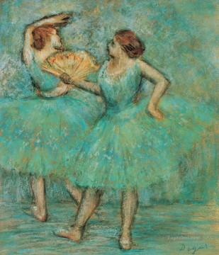 Edgar Degas Painting - little dancers Edgar Degas