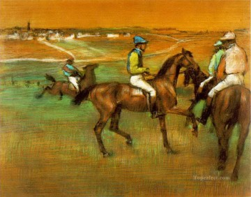 race horses 1888 Edgar Degas Oil Paintings