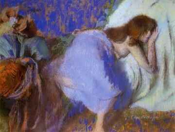 Edgar Degas Painting - rest Edgar Degas