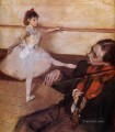 the dance lesson 1879 Edgar Degas
