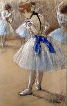 Edgar Degas Painting - the dance studio Edgar Degas