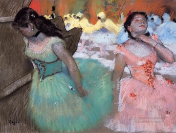 Edgar Degas Painting - the entrance of the masked dancers Edgar Degas