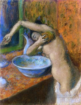 woman at her toilette 3 Edgar Degas Oil Paintings