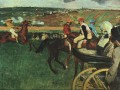 At the Races Edgar Degas