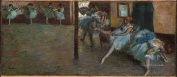 Ballet Rehearsal Edgar Degas Oil Paintings