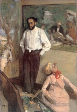 Portrait of the Painter Henri Michel Levy Edgar Degas Oil Paintings