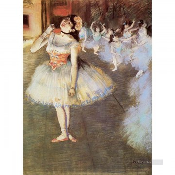 Impressionism Oil Painting - The Star Impressionism ballet dancer Edgar Degas