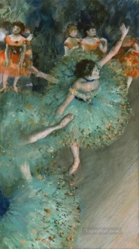 Edgar Degas Painting - swaying dancer Edgar Degas
