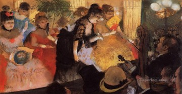 Edgar Degas Painting - the cafe concert 1877 Edgar Degas