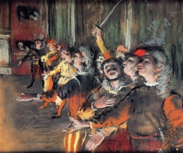 Edgar Degas Painting - the chorus Edgar Degas