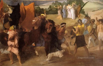 the daughter of jephtha 1860 Edgar Degas Oil Paintings
