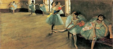 Edgar Degas Painting - Dancing Lesson Edgar Degas