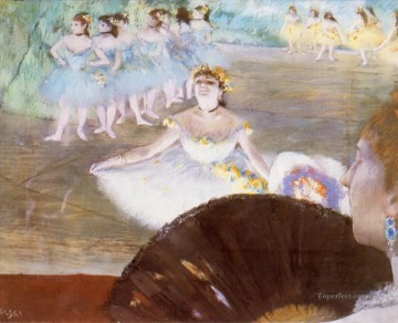 Edgar Degas Painting - dancer with a bouquet of flowers 1878 Edgar Degas