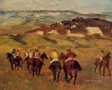 racehorses 1884 Edgar Degas Oil Paintings