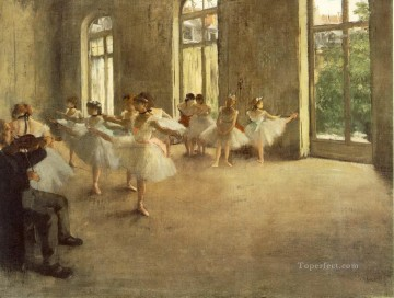 rehearsal Edgar Degas Oil Paintings