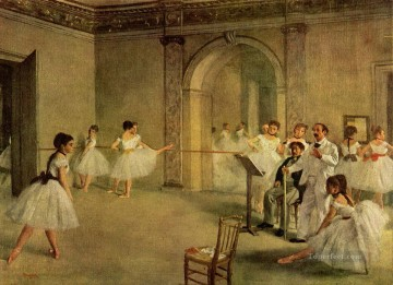 Edgar Degas Painting - Germain Hilaire Edgar Degas