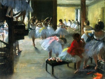 rehearse Edgar Degas Oil Paintings
