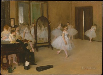 dancers1 Impressionism ballet dancer Edgar Degas Oil Paintings