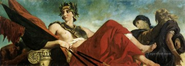 War Romantic Eugene Delacroix Oil Paintings