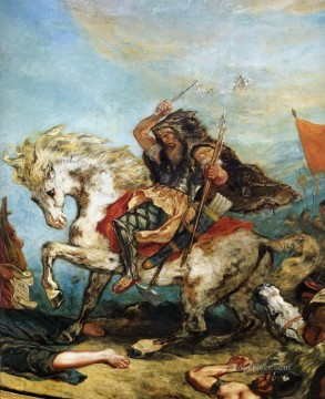 attila the hun Eugene Delacroix Oil Paintings