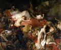 The Death of Sardanapalus Romantic Eugene Delacroix