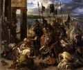 The Entry of the Crusaders into Constantinople Romantic Eugene Delacroix