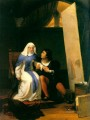 Filippo Lippo Falling in Love with his Model 1822 histories Hippolyte Delaroche