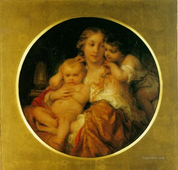 the Canvas - mother and child histories Hippolyte Delaroche