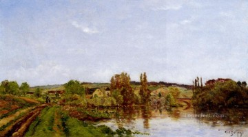 scene Art - Walking Along The River scenes Hippolyte Camille Delpy