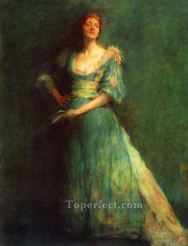 Comedia Tonalist Aestheticism Thomas Dewing Oil Paintings