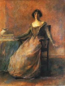 Dewing Canvas - red Thomas Dewing