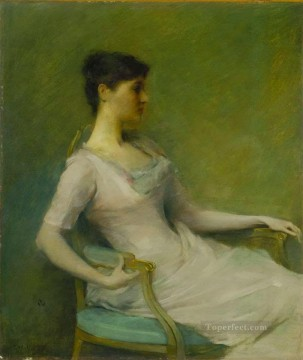 Dewing Canvas - tonalist Thomas Dewing