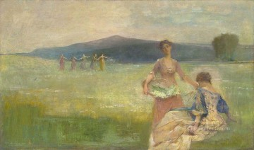 Spring Thomas Dewing Oil Paintings