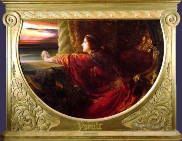 Yseult Victorian painter Frank Bernard Dicksee Oil Paintings