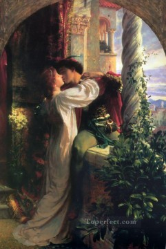 victorian victoria Painting - Romeo and Juliet Victorian painter Frank Bernard Dicksee