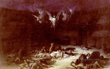 The Christian Martyrs Gustave Dore Oil Paintings