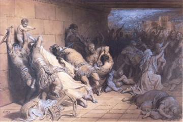 Gustave Dore Painting - The Martyrdom of the Holy Innocents Gustave Dore