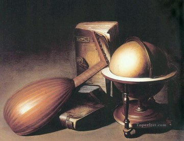Lute still life Gerrit Dou Oil Paintings