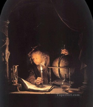 Astro Golden Age Gerrit Dou Oil Paintings