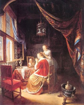 Dress Golden Age Gerrit Dou Oil Paintings