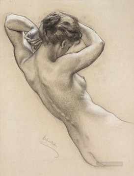Draper Herbert James Painting - James Study of Florrie Bird for a water nymph inProspero Summoning Nymphs and De Herbert James Draper