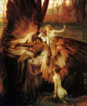 Draper Herbert James Painting - James Mourning for Icarus Herbert James Draper