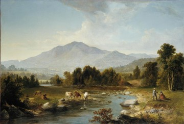 Hand Canvas - High Point Shandaken Mountains Asher Brown Durand