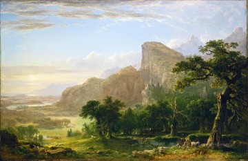 Asher Brown Durand Painting - Landscape Scene From Thanatopsis Asher Brown Durand