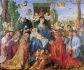 The Lady of the festival du Rosaire Albrecht Durer