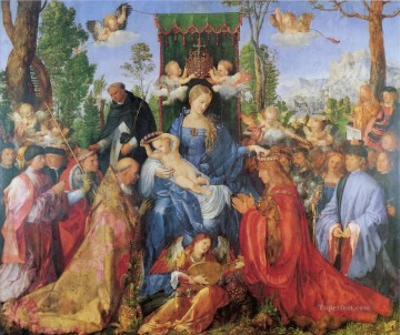 Festival Art - The Lady of the festival du Rosaire Albrecht Durer
