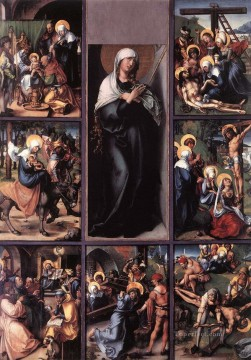 renaissance Painting - The Seven Sorrows of the Virgin Nothern Renaissance Albrecht Durer