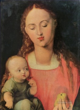 Maria with child Albrecht Durer Oil Paintings