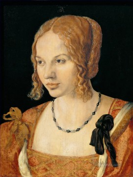 young Art - Portrait of a Young Venetian Woman Nothern Renaissance Albrecht Durer