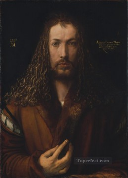 the Canvas - Self portrait Nothern Renaissance Albrecht Durer